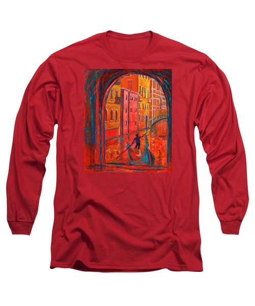 Venice Impression Viii Long Sleeve T-Shirt by Xueling Zou