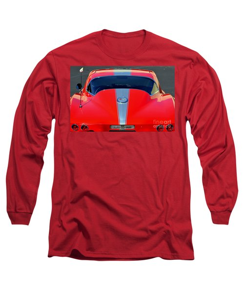Very Cool Corvette Long Sleeve T-Shirt