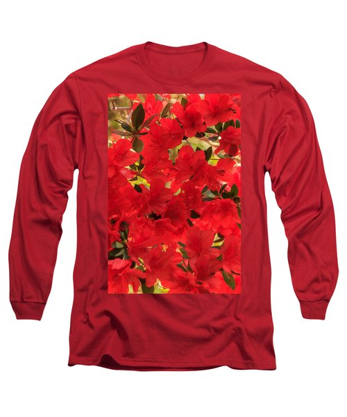 Vibrant Azalea Long Sleeve T-Shirt