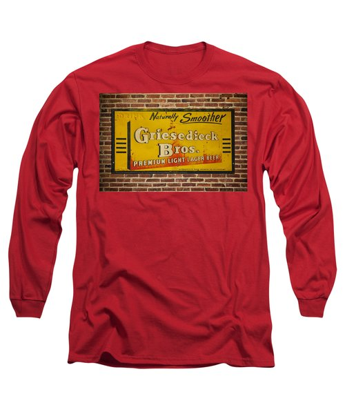 Vintage Griesedieck Bros Beer Dsc07192 Long Sleeve T-Shirt by Greg Kluempers
