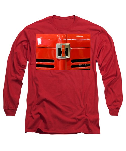 Vintage International Harvester Tractor Badge Long Sleeve T-Shirt