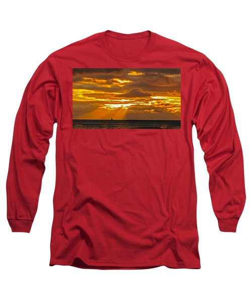 Waikiki Sun Set Long Sleeve T-Shirt