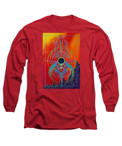 Waiting Over Sedona Long Sleeve T-Shirt