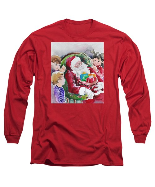 Waiting Up For Santa2 Long Sleeve T-Shirt