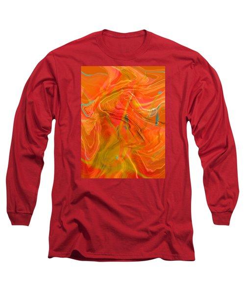 Long Sleeve T-Shirt featuring the photograph Was A Daylily by Brooks Garten Hauschild