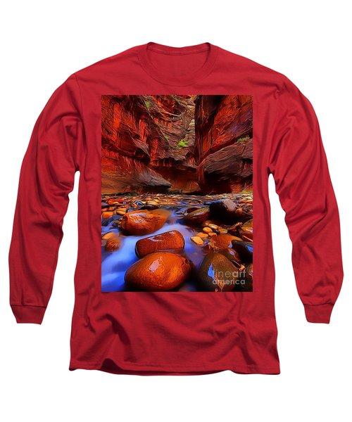 Water Runs Through It Long Sleeve T-Shirt