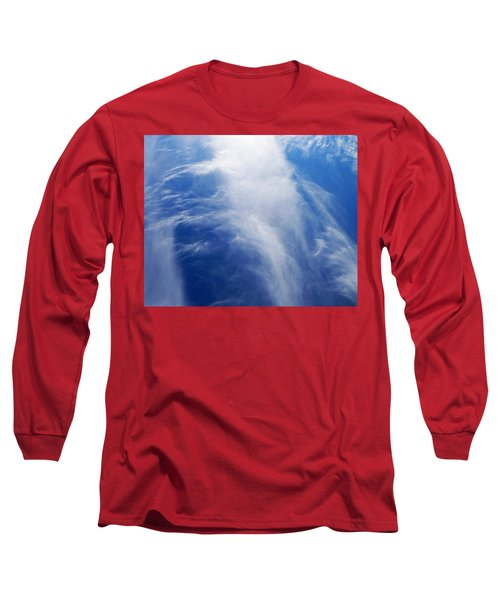 Waterfalls In The Sky Long Sleeve T-Shirt