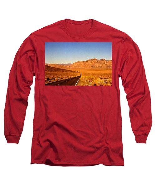 Way Open Road Long Sleeve T-Shirt by Byron Varvarigos