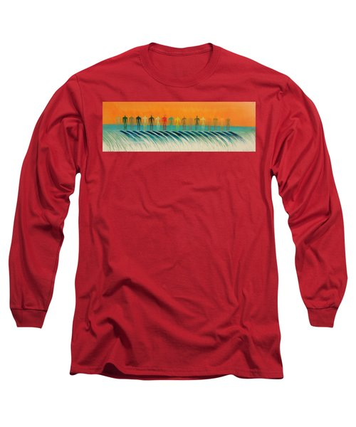 We Are All The Same Long Sleeve T-Shirt by Tim Mullaney