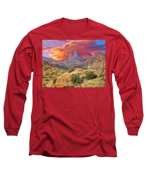 Weavers Needle Long Sleeve T-Shirt