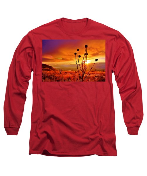 What A Morning Long Sleeve T-Shirt by Catie Canetti
