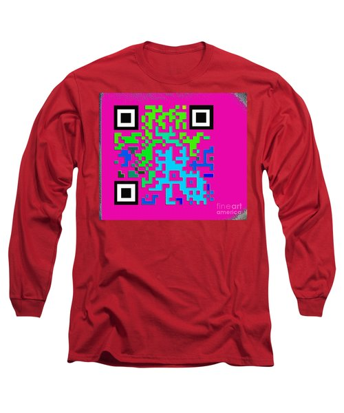 What Is Fine Art Quick Response  Long Sleeve T-Shirt