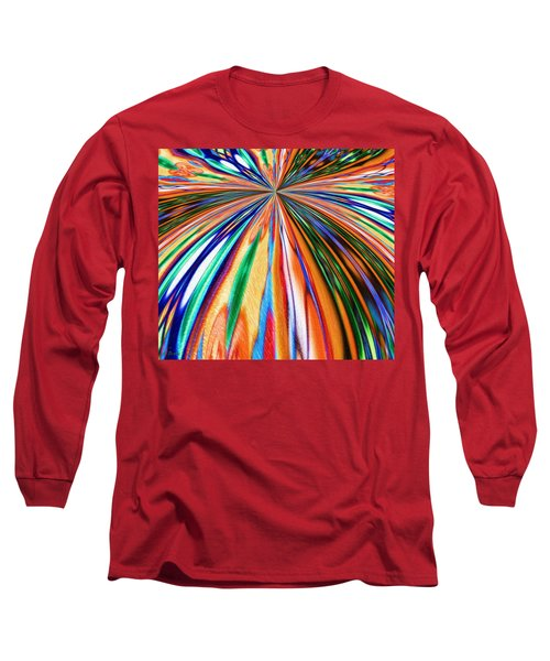 Where It All Began Abstract Long Sleeve T-Shirt