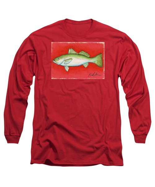 White Trout Long Sleeve T-Shirt