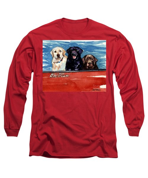 Whole Crew Long Sleeve T-Shirt by Molly Poole