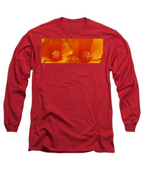 Wild Poppies Long Sleeve T-Shirt by Ben and Raisa Gertsberg