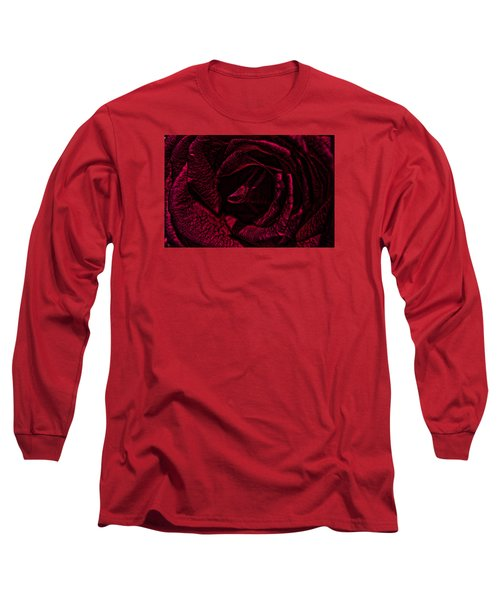 Long Sleeve T-Shirt featuring the photograph Wild Rose by Kathy Churchman