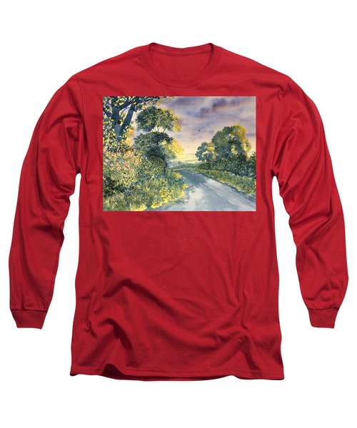Wild Roses On The Wolds Long Sleeve T-Shirt