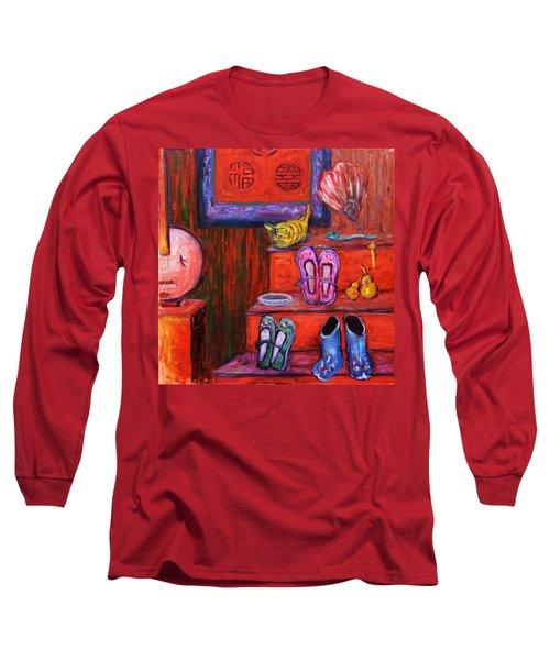 Window Shopping 1 Long Sleeve T-Shirt