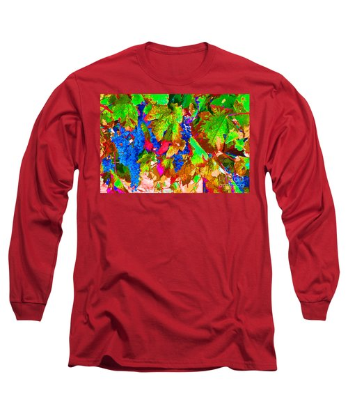 Long Sleeve T-Shirt featuring the photograph Wine In Time by David Lawson