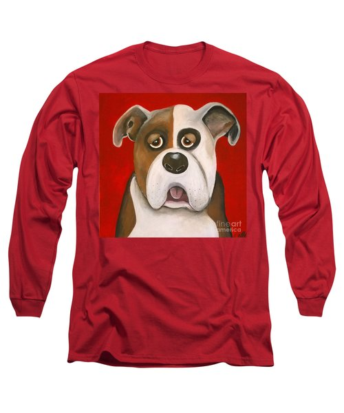 Winston The Dog Long Sleeve T-Shirt
