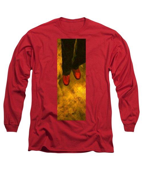 Witch Walking Long Sleeve T-Shirt
