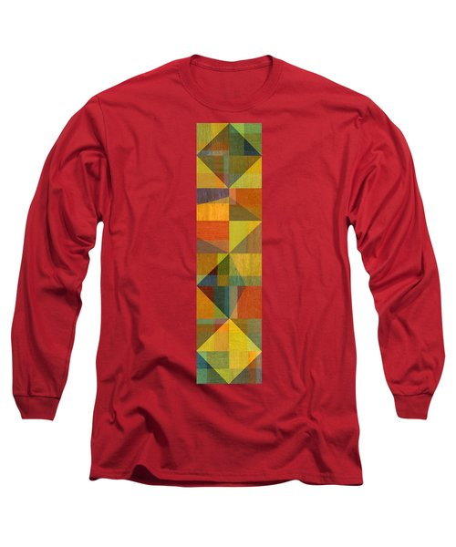 Wood And Angles Long Sleeve T-Shirt