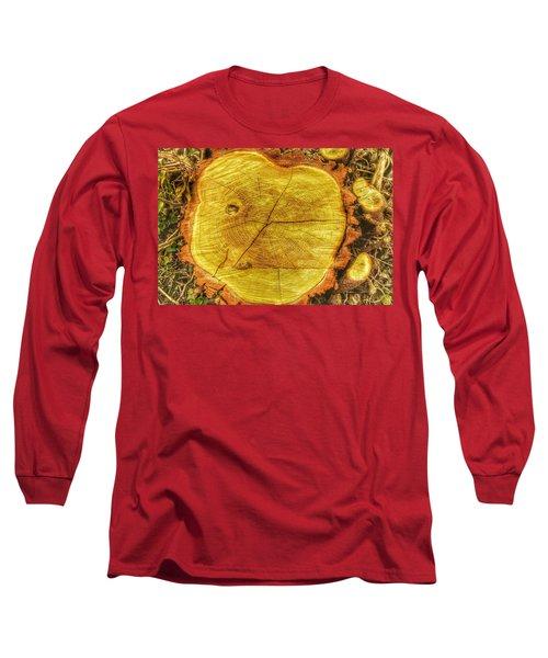Wood Long Sleeve T-Shirt by Daniel Precht