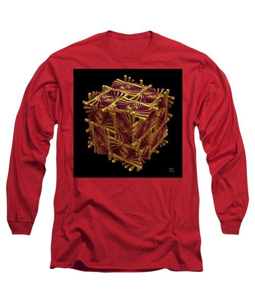Xd Box Long Sleeve T-Shirt by Manny Lorenzo