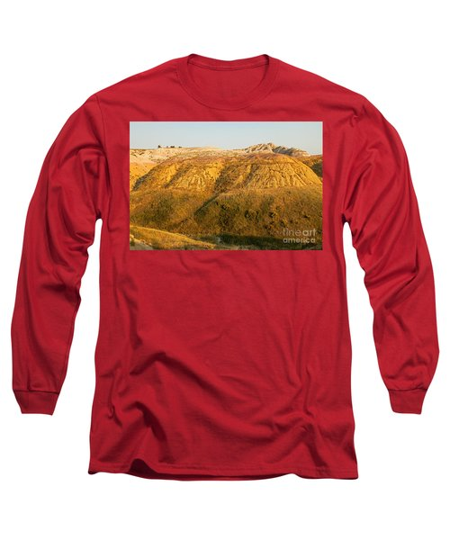 Yellow Mounds Overlook Badlands National Park Long Sleeve T-Shirt