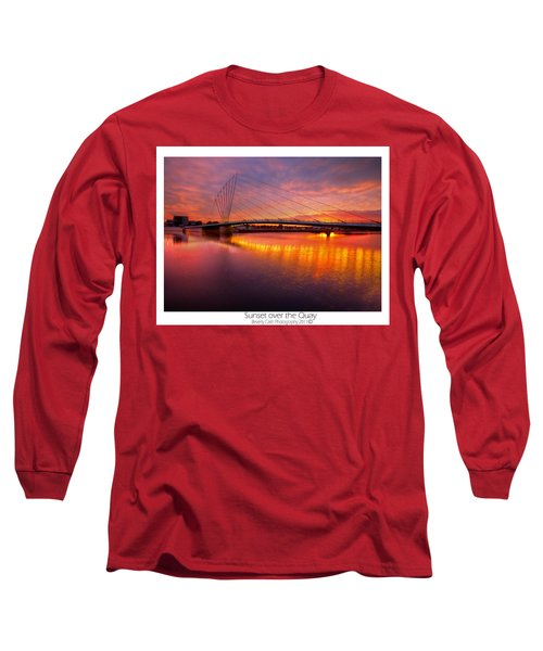 Sunset Over The Quay Long Sleeve T-Shirt