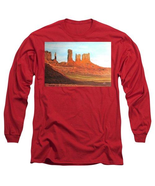 Arizona Monuments Long Sleeve T-Shirt