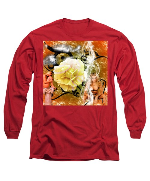 Beauty Long Sleeve T-Shirt by Clayton Bruster