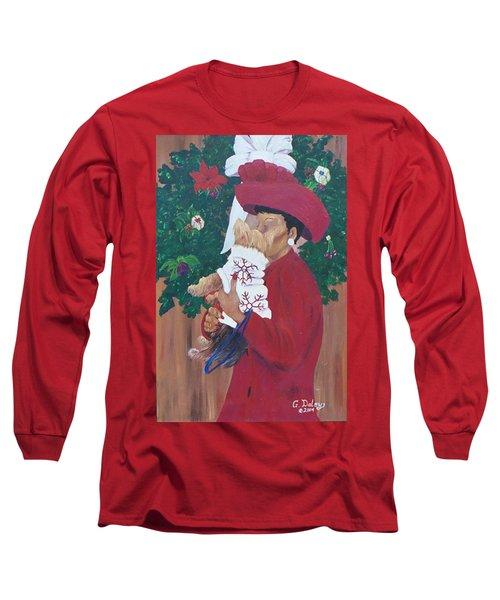 Christmas Lioness Long Sleeve T-Shirt