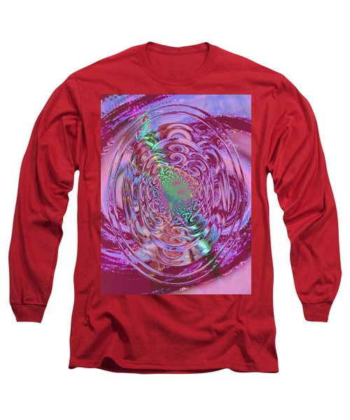 Power Of Mind Long Sleeve T-Shirt by Rogerio Mariani