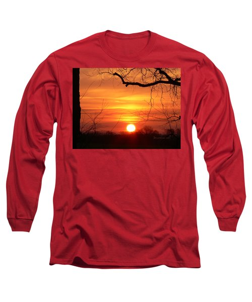 Sunrise In Tennessee Long Sleeve T-Shirt by EricaMaxine  Price