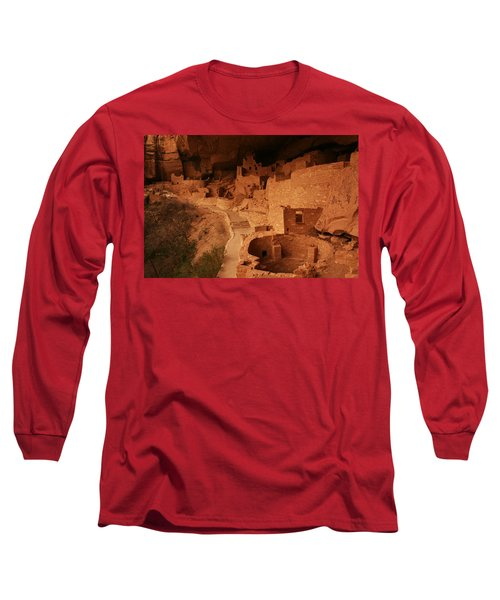 Cliff Palace Mesa Verde National Park Long Sleeve T-Shirt