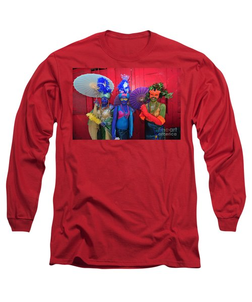 Mermaid Parade 2011 Coney Island Long Sleeve T-Shirt