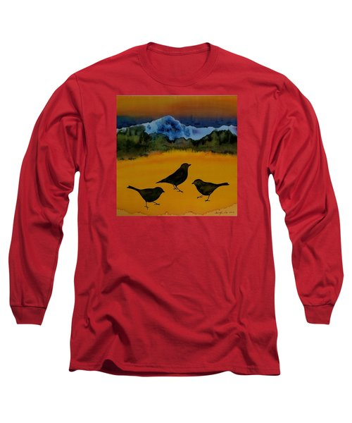 3 Blackbirds Long Sleeve T-Shirt