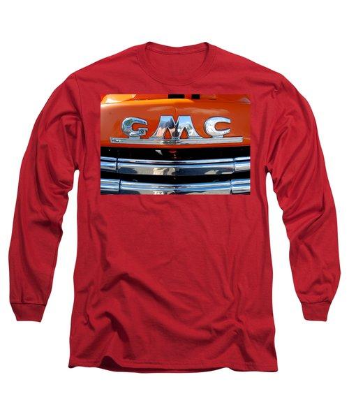 Long Sleeve T-Shirt featuring the photograph '49 G M C by John Schneider