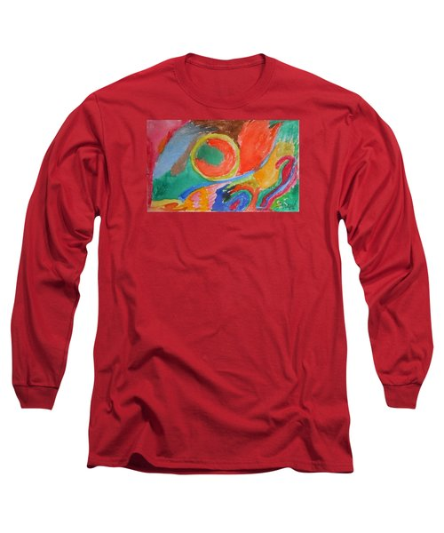 Long Sleeve T-Shirt featuring the painting Before Conception by Francine Frank