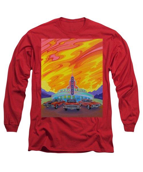 Big Block Cafe Long Sleeve T-Shirt