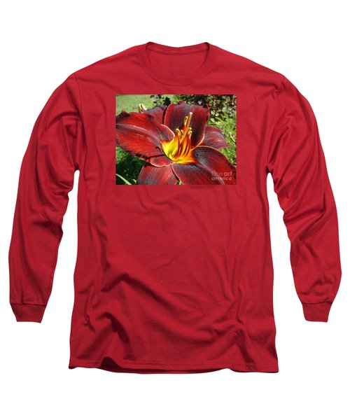 Bleeding Beauty Long Sleeve T-Shirt