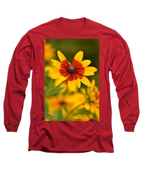 Long Sleeve T-Shirt featuring the photograph Blush-eyed Susan by JD Grimes