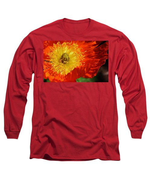 Bursting Peony Long Sleeve T-Shirt