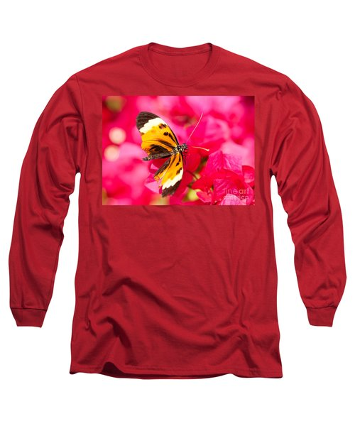 Long Sleeve T-Shirt featuring the photograph Butterfly by Les Palenik
