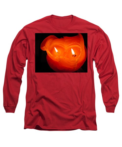 Long Sleeve T-Shirt featuring the photograph Candle Photo by Colette V Hera  Guggenheim