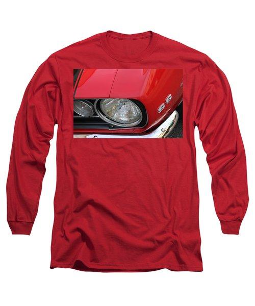 Long Sleeve T-Shirt featuring the photograph Chevy S S Emblem by Bill Owen