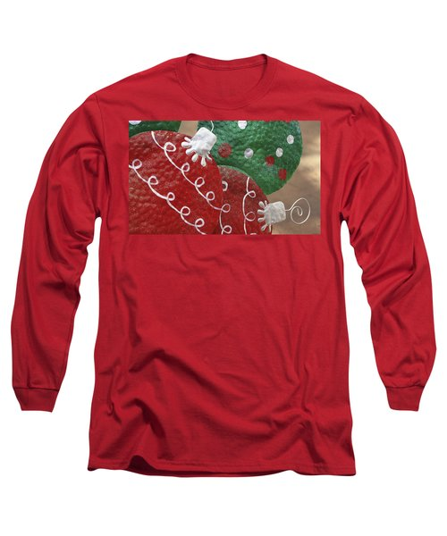 Long Sleeve T-Shirt featuring the photograph Christmas Ornaments by Patrice Zinck