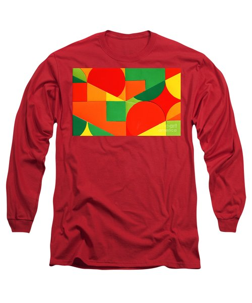 Circles Colorized Long Sleeve T-Shirt